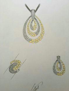 pendant set diamond pendant diamond jewelry gold jewelry jewelry drawing jewelry