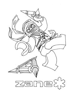 coloring pages ninjago zane and the rest of the ninja ninjago coloring pages