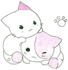 cute anime cat drawing cats are soooo cute cat drawing tumblr kitten drawing