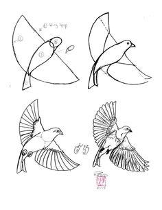 draw birds bird drawings easy drawings animal drawings drawing birds bird sketch