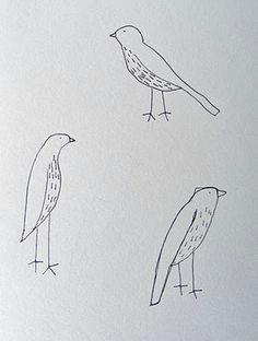 how to draw birds bird drawings sketchbook drawings easy drawings doodle drawings