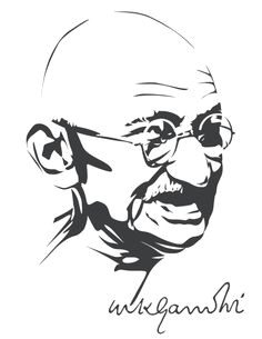 mahatma gandhi by astayoga deviantart com on deviantart contact me at astayoga gmail com if you want to use it for commercial purposes