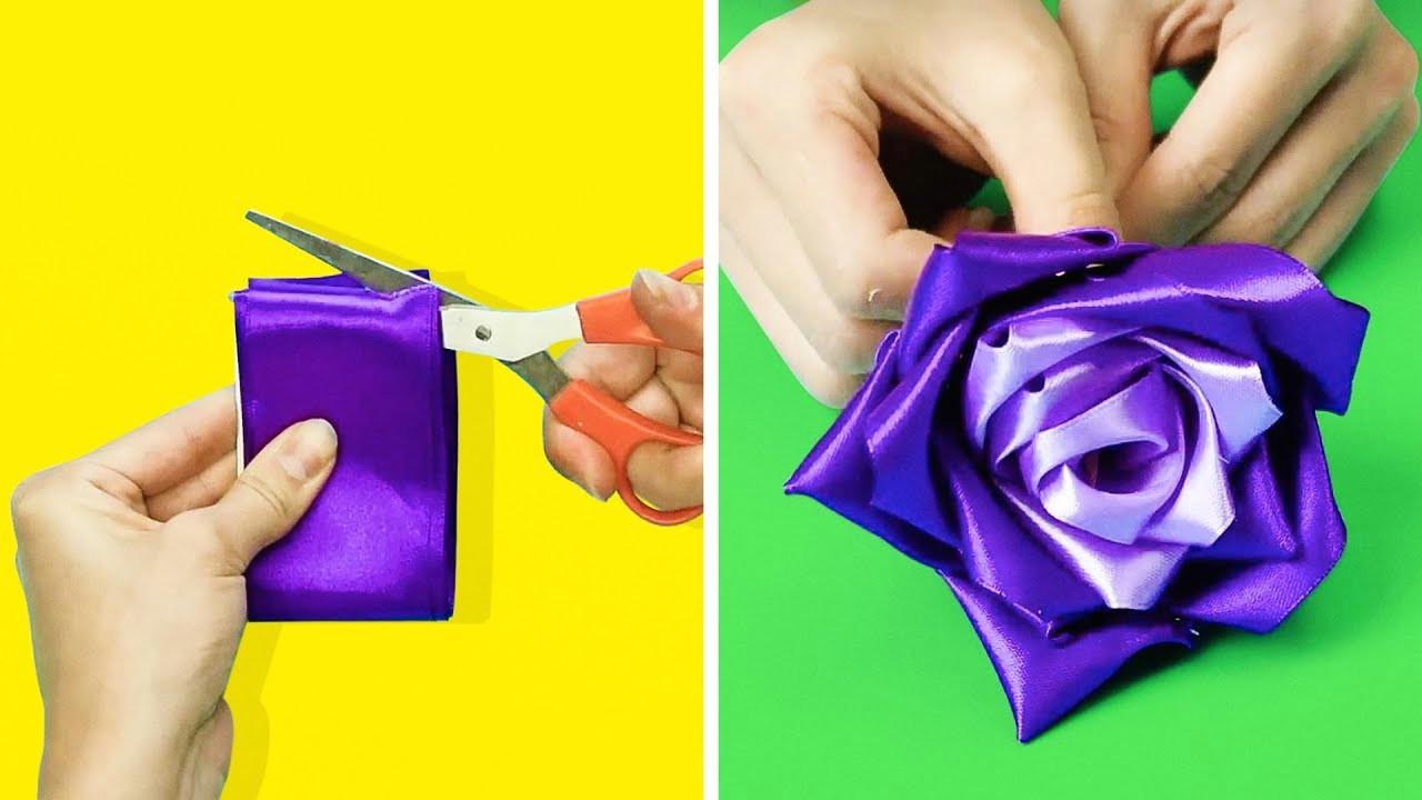 19 wonderful flower crafts to make in 5 minutes