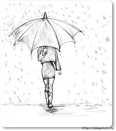 dod do d d n d n d d d n n d d d n d d d n do d google girl drawing easy drawing tips drawing rain