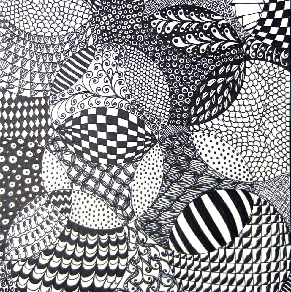 zentangle drawing is so freaking fun and easy this is a very easy idea to get you started on zentangle basics