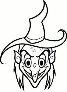how to draw a witch face step 7 witch face paint witch painting rock