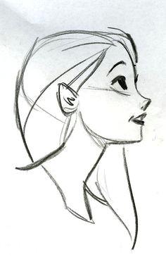 character sketch drawing by stevethompson cartoon drawings of people easy drawings of girls