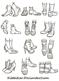 shoes reference sheet by kibbitzer this time someone asked me to draw shoes i hope it will help you send me more suggestions
