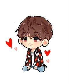image result for jeon jungkook chibi easy taehyung kookie bts bts bangtan boy
