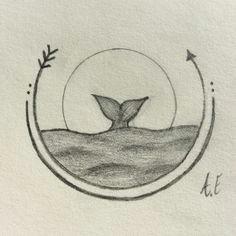 tumblr drawings easy drawings whale sketch