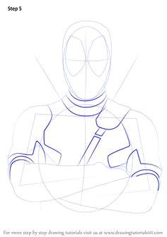 how to draw deadpool drawingtutorials101 com drawing projects drawing tutorials drawing tips