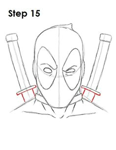 deadpool marvel drawing 15 marvel drawings deadpool drawings cartoon drawings detailed drawings