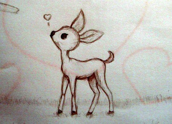 deer cartoon cartoon crazy simple animal drawings cute cartoon drawings deer drawing