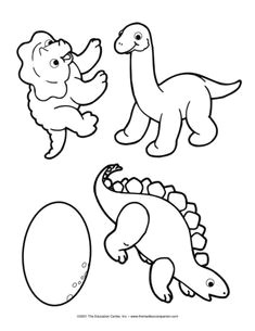 baby dinosaurs the mailbox