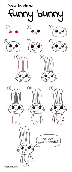 drawing easter bunny drawing bunny rabbit draw with timothy