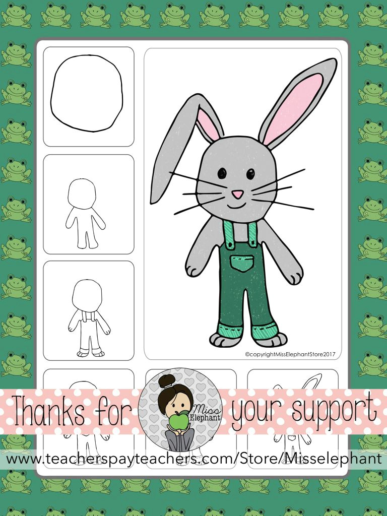 easter bunny directed drawing easter and spring art lessons perfect for elementary school art