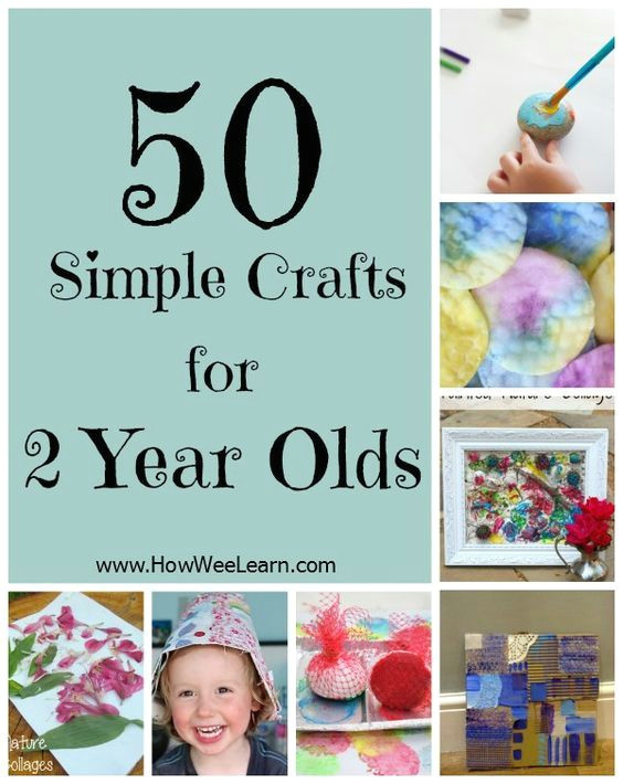 50 crafts for 2 year olds simple toddler crafts that focus on the process of creating and are meant for two year olds to do all on their own www