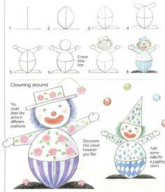 2016 09 en klovn easy drawings for kids drawing