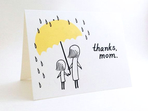 simple mother s day card cute i love you by euclidstreetshop 4 00