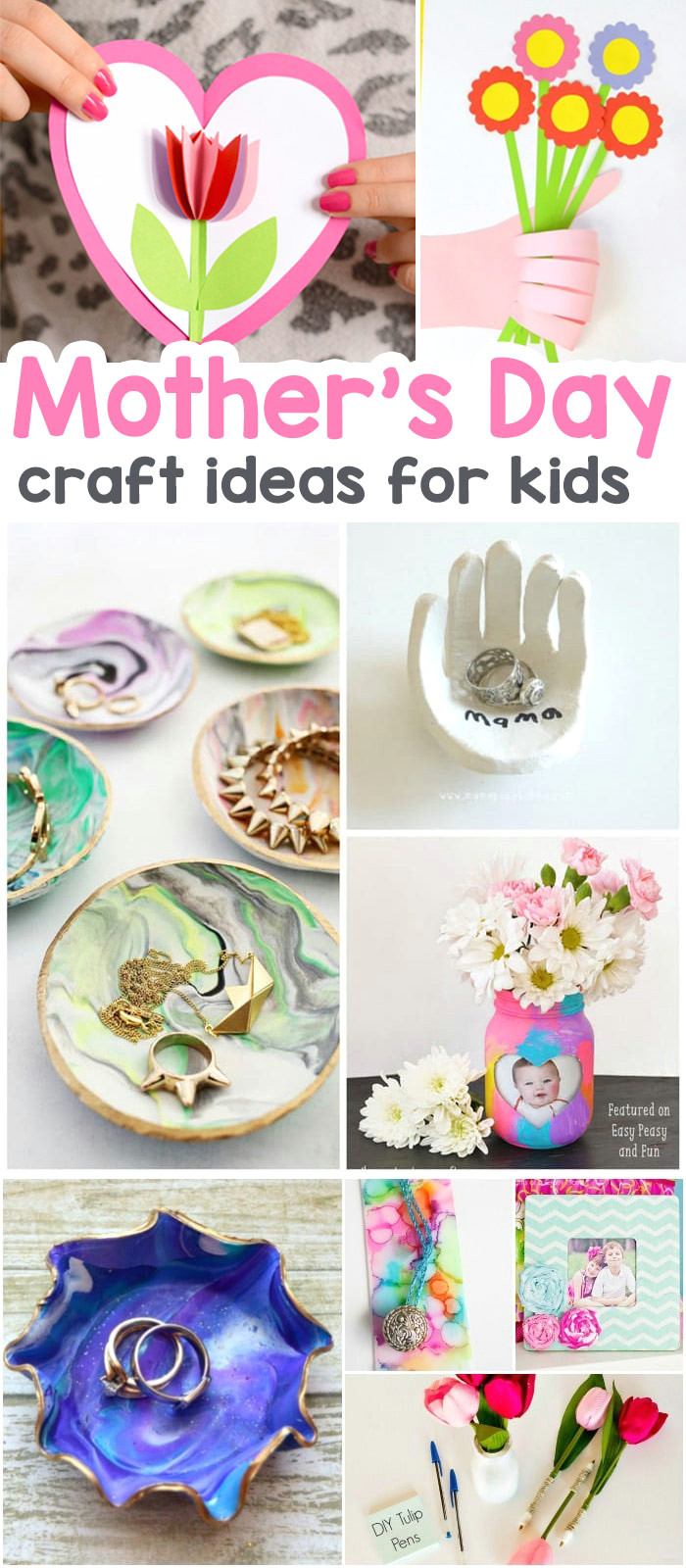 wonderful mother s day crafts for kids the best ideas for cards keepsakes and art