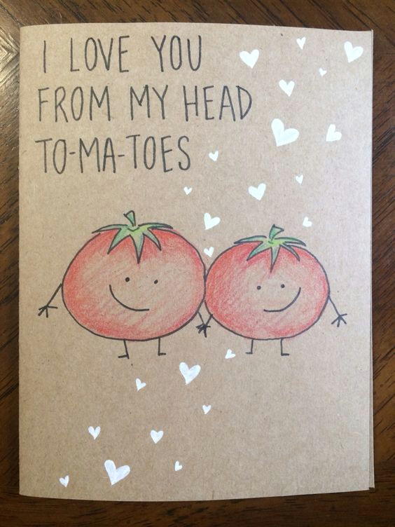 this has lots and lots of valentines cards you can make i love you from my head to ma toes card