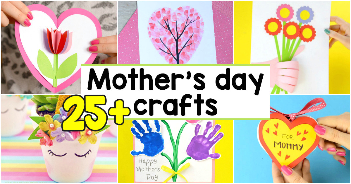 25 mothers day crafts for kids most wonderful cards keepsakes and more easy peasy and fun