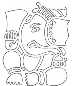 madhubani art mural art murals ganesha sketch