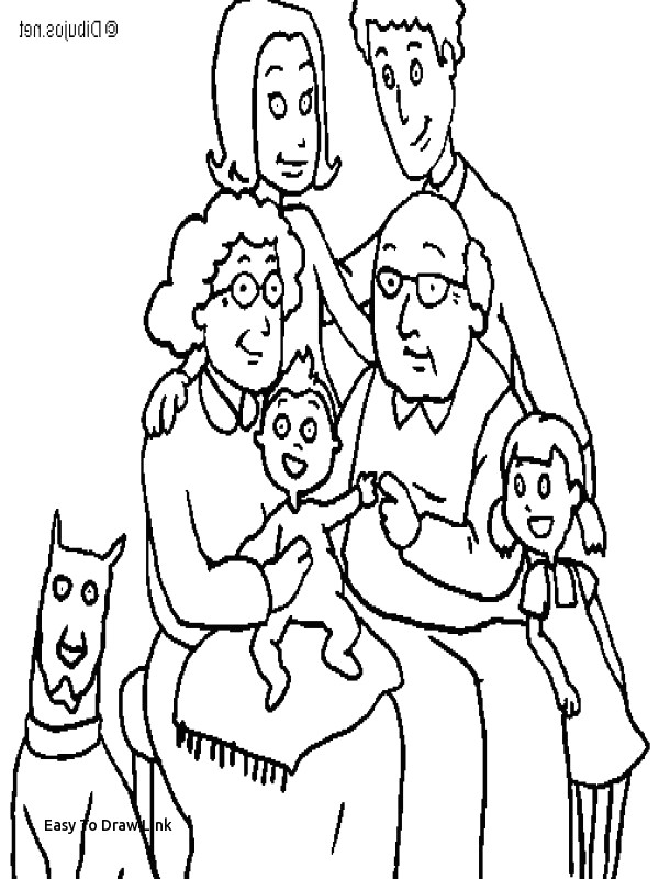 an easy drawing beautiful easy to draw link colouring family c3 82 c2 a0 0d free