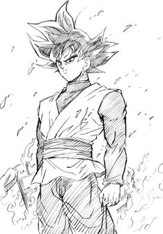 draw black goku draw easy goku dragon dragon ball z anime tutorial