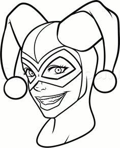 Easy Drawings Harley Quinn 21 Best Joker Drawings Images Joker Drawings Jokers the Joker
