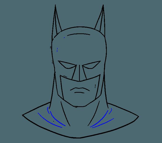 how to draw garfield step 2 batman drawing diy canvas easy drawings