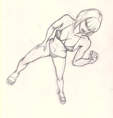 image result for drawing human body in perspective