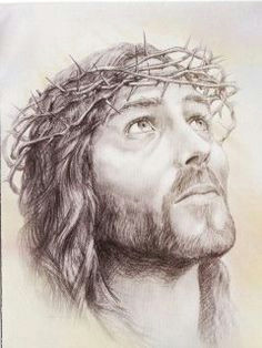 drawing of jesus christ