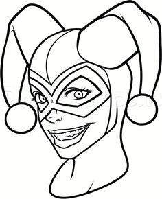 harley quinn coloring pages to download and print for free harley quinn drawing harley quinn