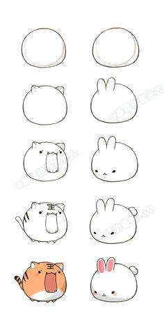how to draw kawaii tiger bunny