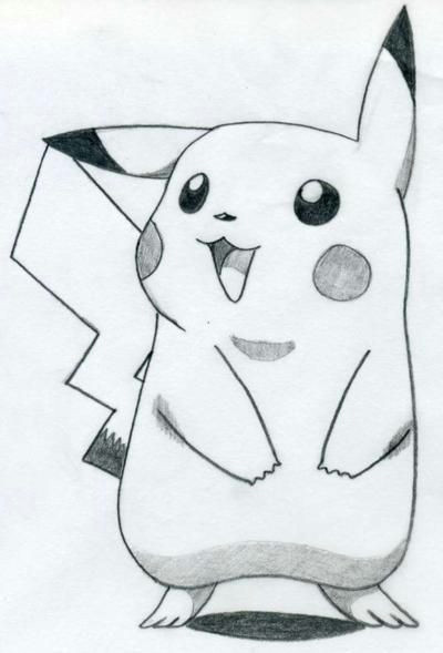 how to draw pikachu pencil sketches easy how to draw sketches drawing with pencil