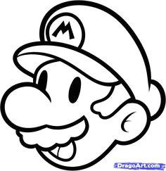 easy cartoon drawings disney drawings easy drawings mario kart mario bros
