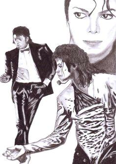 michael jackson s billie jean painted in painter 20110410 michael jackson dance michael jackson drawings