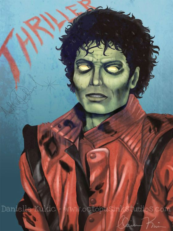 thriller zombies drawings michael jackson thriller octopus ink studios