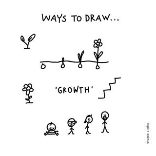 growth doodle icon doodle art doodle drawings visual note taking easy drawings