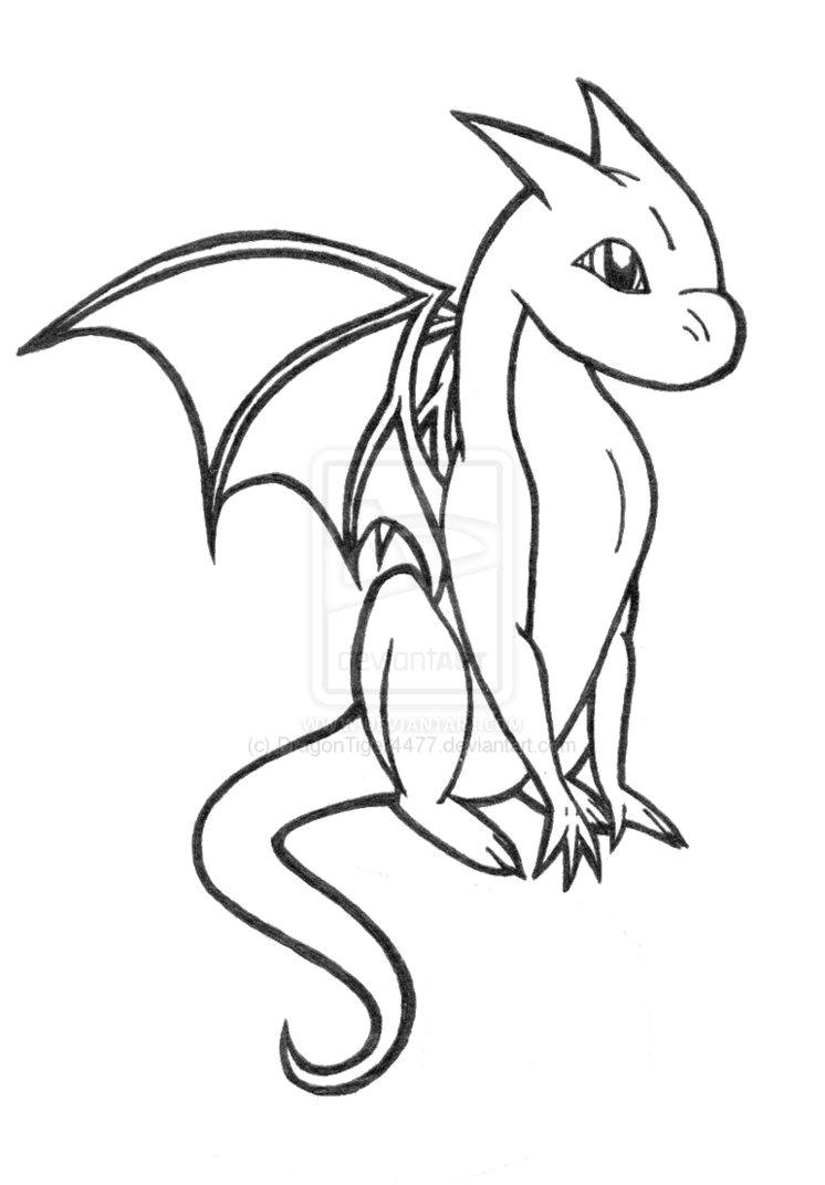 dragon tattoo dragon tattoo simple dragon drawing