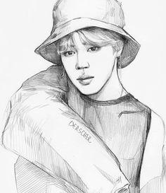 kris on instagram jimin chim mochi art artwork btsart fanart bts bangtan bangtansonyeondan kpop kpopart army parkjimin arte graphic