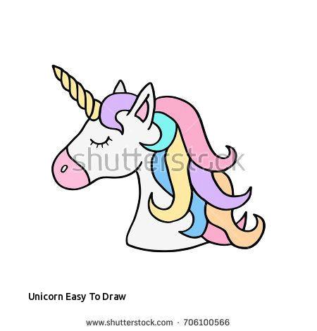 unicorn easy to draw colorful rainbow unicorn vector illustration drawing cute unicorn s of unicorn easy