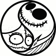yin yang a colorful drawings easy drawings online drawing jack and sally soul tattoo