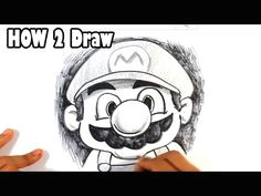 how to draw mario mario bros classic easy drawings