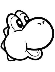 how to draw yoshi easy step 5