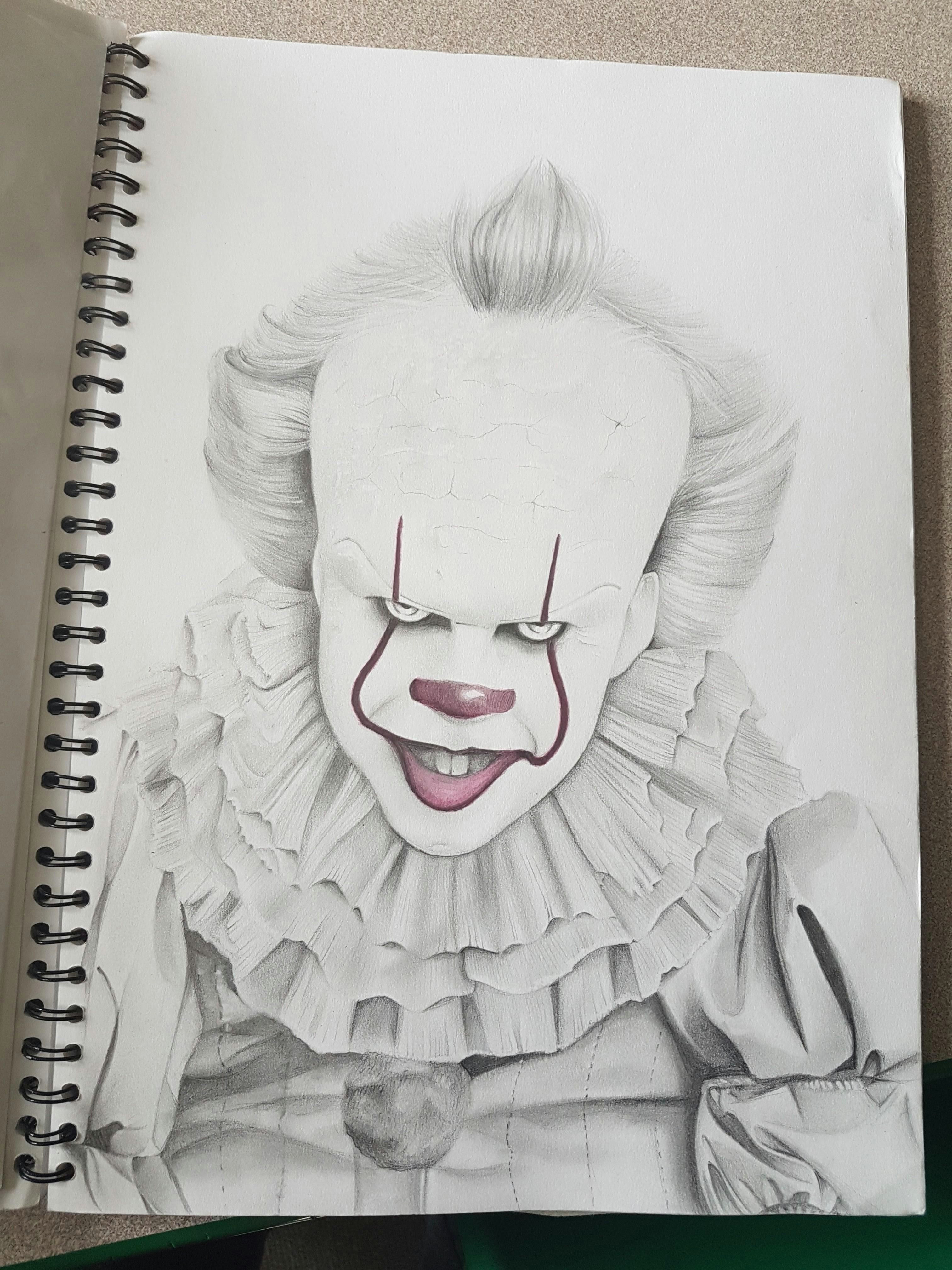 pennywise george young pencil 2017 visit http www omnipopmag com