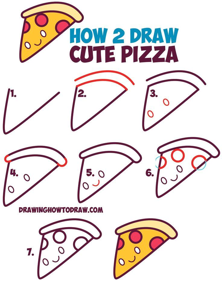 7ca4d246fd0f1f1f4c23139ead15ee79 how to draw doodles easy step by step food drawing tutorial jpg