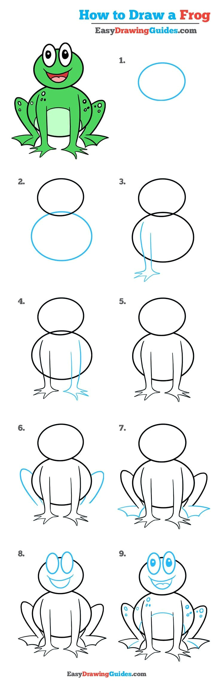 how to draw an easy bunny rabbit