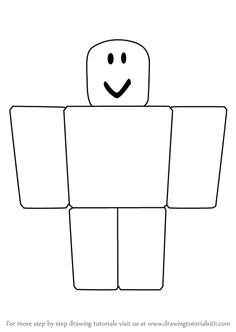 learn how to draw noob from roblox roblox step by step drawing tutorials